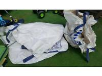 Free rubble sacks x2