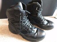 UK11 - Security boots Magnum STEALTH FORCE 8.0 LEATHER COMPOSITE TOE & PLATE