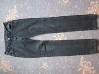 'Jane Norman' Black Jeans- Fit a Size 8-10