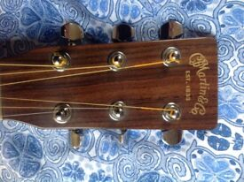 Martin DC-1 Electro acoustic, great sound, better value