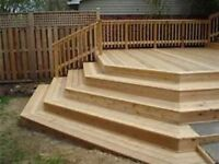 DECKS DONE RIGHT  and life time warrenty !!!! we beat any quote