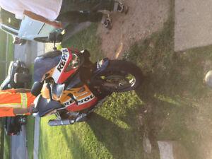 600cc Honda cbr f4 for sale