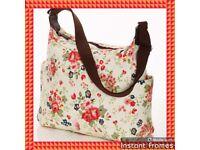 Canvas Floral Print Bag