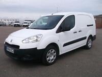 Peugeot Partner L2 716 S 1.6 HDI 92 BHP CREW VAN DIESEL MANUAL WHITE (2014)