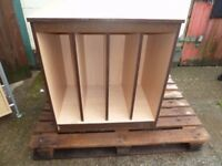 Slatted Storage Unit Delivery Available £10