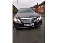 2010 Mercedes e220 perfect condition very well look after