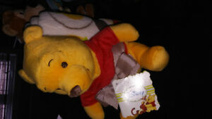 Winnie the Pooh stuffed toy with blanket- brand new