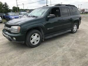 CHEVROLET TRAILBLAZER ALLONGÉ 2003+7 PLACES+ INSPECTÉ+PRATIQUE