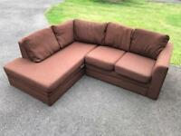 Corner sofa . Can deliver