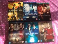 Supernatural 1-6 & dexter 1-6