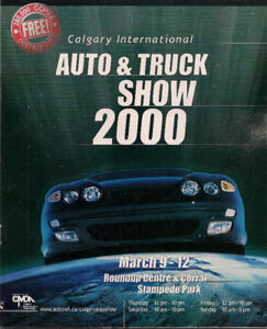 Calgary Truck and Car show 2000 Brochure.