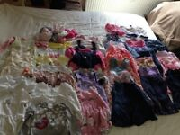Girls Summer Clothes Bundle (6-9 months)
