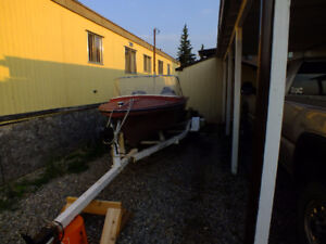 14ft Vanguard Boat with trailer and 20hp outboard motor