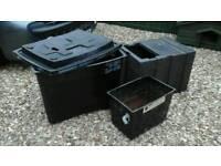 FREE 3 used water storage tanks FREE