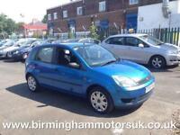 2005 (55 Reg) Ford Fiesta 1.25I STYLE 5DR Hatchback BLUE + MEGA LOW MILES