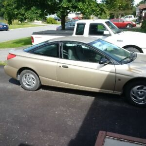 2001 Saturn S-Series As Is