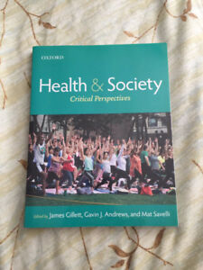 Health and Society: Critical Perspectives