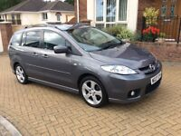 Mazda 5 Furano 7 seater. Ideal family car with full leather interior.