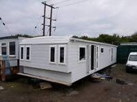 Renovated static caravan