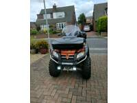 Quadzilla x8 4x4 lwb quad bike