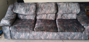 Couch and chair.