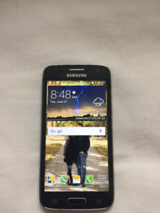 Samsung Galaxy Core Wind/Freedom Mobile. Great Shape! Box & Char
