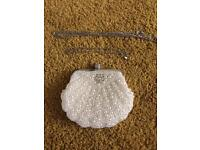 Pearl wedding bag