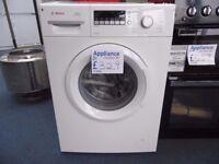 EX-DISPLAY BOSCH 6 KG 1400 SPIN A+++ W/15 MIN QUICK WASH REF: 31383