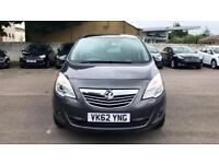 2012 Vauxhall Meriva 1.4T 16V SE 5dr Manual Petrol Estate