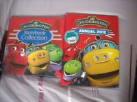 Chuggington Story collection book and Chuggington Annual
