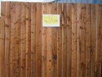 we manufacture super rustic fence panels using 20 featheredge boards not 18, open 7days