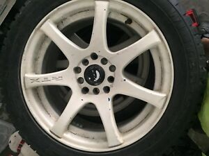 "16"" RTX ink blue rims dipped white"