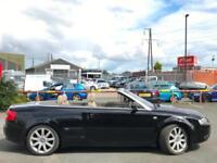 2004 (04) Audi A4 Convertible 2.5 TDI Sport Automatic