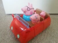 Peppa Pig Car - moves with sound