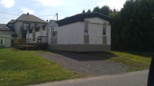 Maison mobile modulaire à louer à St Jean sur richelieu