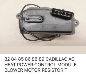 Wanted - Cadillac A/C Heater Blower control module