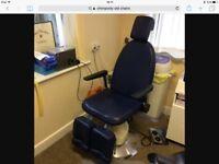 Chiropody chair