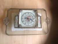 Vintage dressing table set ,would make a beautiful present for the bride ..