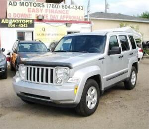 2011 JEEP LIBERTY NORTH EDITION 4X4 AUTO LOADED 100% FINANCING