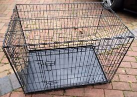 Dog Cage / Crate Large as new