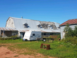 Barn to be taking down free
