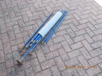 Set of drain clearing rods which have only been used once