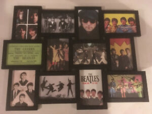 12 Framed Pictures Of The Beatles