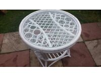 white coffee table good condition only £8.00