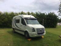 Camper Van VW Crafter full convertion Shower/Loo full kitchen 6'2 bed