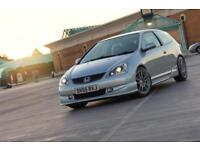 2005 Honda Civic sport FSH Low mileage Not Type R
