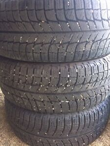 4x Michelin X-ICE 205/55R16 tires for sale! OBO
