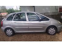 citroen picasso for sale NEEDS NEW CLUTCH