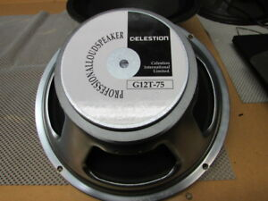 "Celestion G12T-75 75 Watt 12"" Speakers"