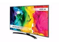 43inch LG ULTRA HD 4K TV MODEL: LG 43UH668V